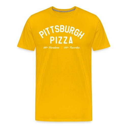Pittsburgh Pizza - Men's Premium T-Shirt