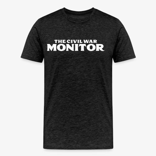 CWM LOGO WHITE - Men's Premium T-Shirt