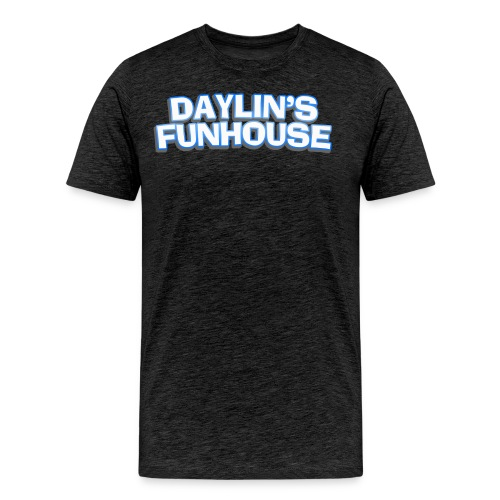 Daylins Funhouse plain logo - Men's Premium T-Shirt