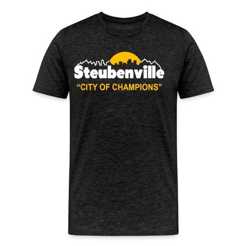 Steubenville - City of Champions - Men's Premium T-Shirt