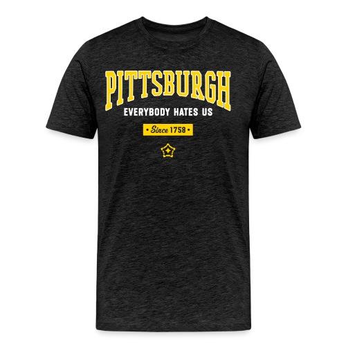hates 3 - Men's Premium T-Shirt