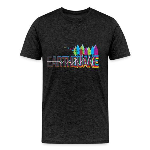 Earthquake - Men's Premium T-Shirt