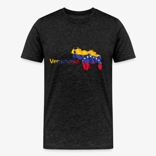 Maps Venezuela - Men's Premium T-Shirt