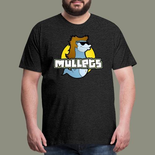 mullets logo - Men's Premium T-Shirt
