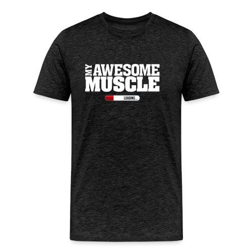 My Awesome Muscle - Men's Premium T-Shirt
