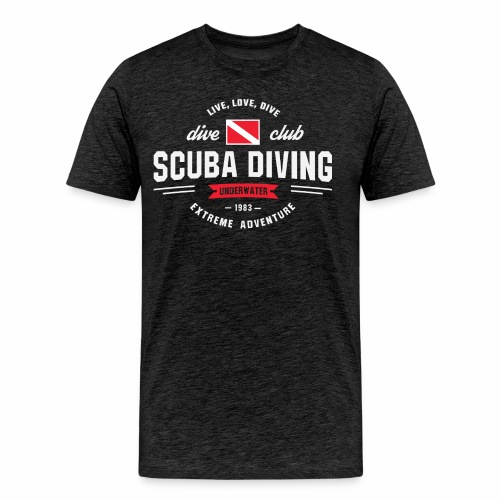 Scuba diving - Men's Premium T-Shirt