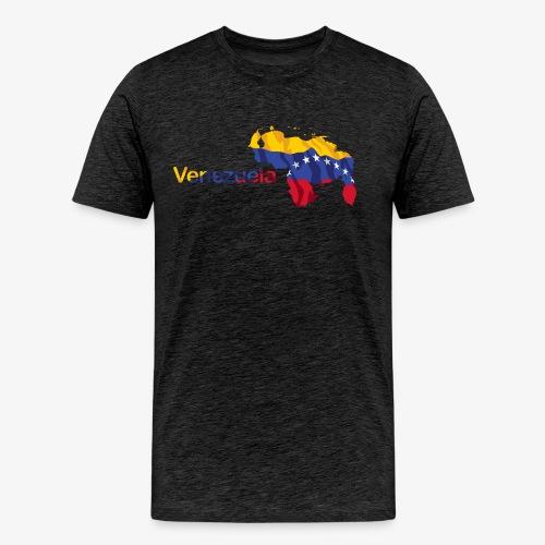 Maps Venezuela - Men's Premium T-Shirt