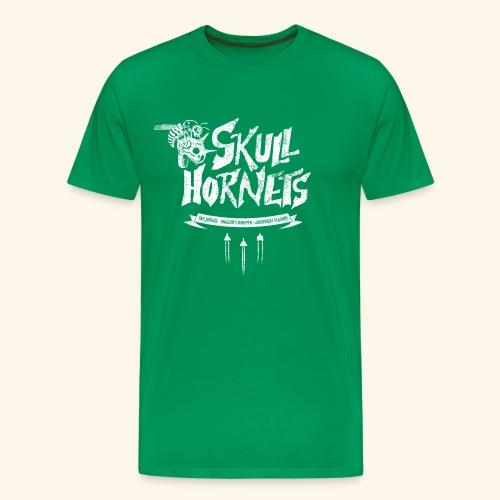 skull hornets - Men's Premium T-Shirt