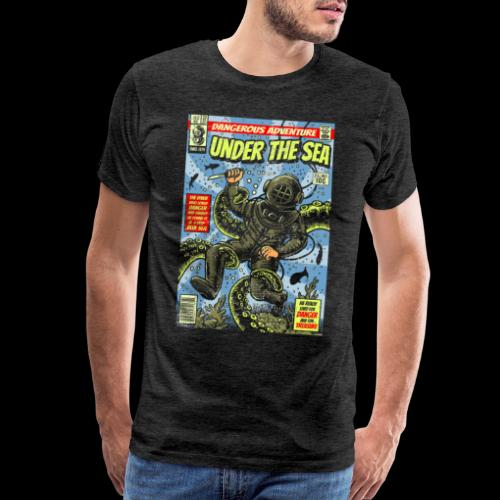 Under the Sea Comic Adventure - Men's Premium T-Shirt