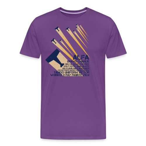 International Phonetic Alphabet - Men's Premium T-Shirt