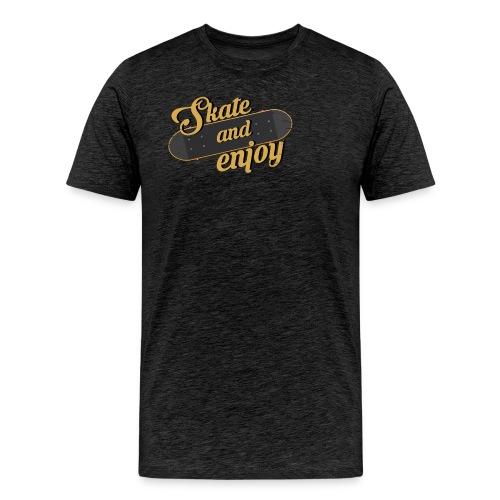 Skate And Enjoy - Men's Premium T-Shirt