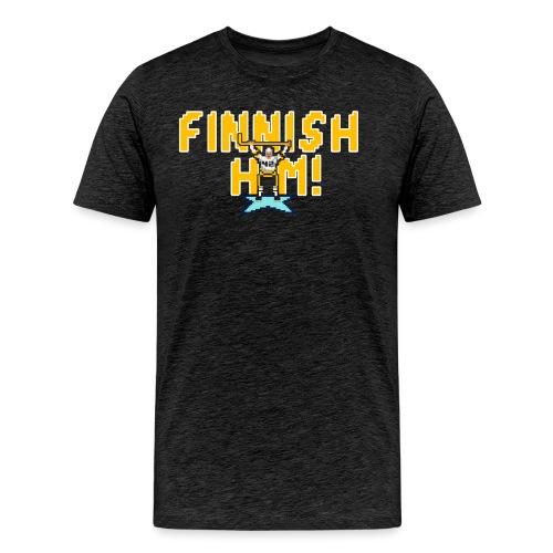 Finnish Him! - Men's Premium T-Shirt