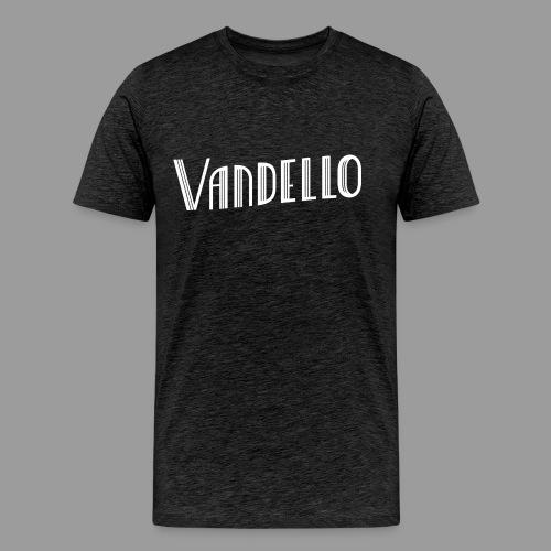 Vandello Logo-White - Men's Premium T-Shirt