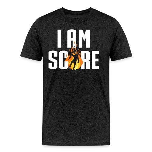 I am Fire. I am Score. - Men's Premium T-Shirt