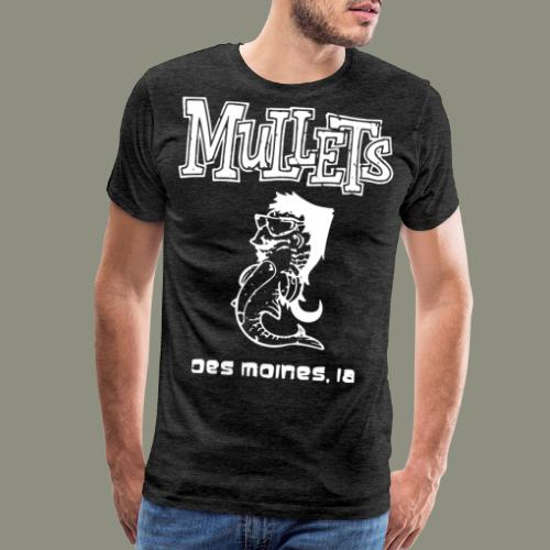 mulletmain white - Men's Premium T-Shirt