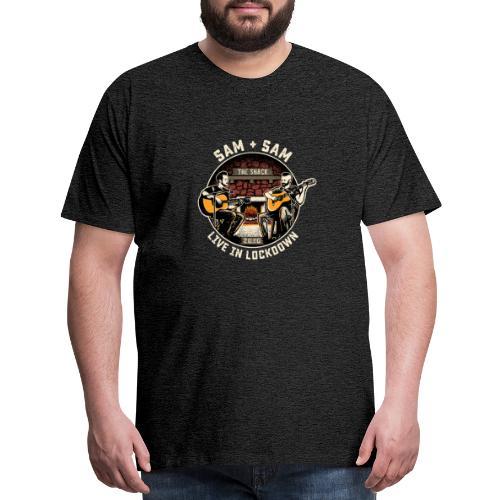 Sam + Sam Live in Lockdown - Men's Premium T-Shirt