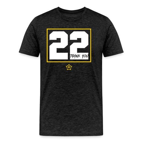 22v - Men's Premium T-Shirt