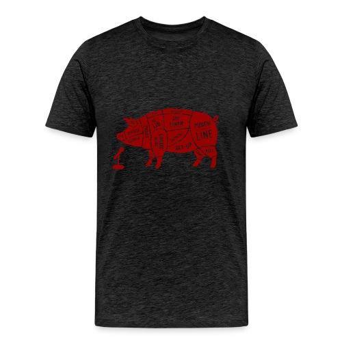 Red Pig - Men's Premium T-Shirt