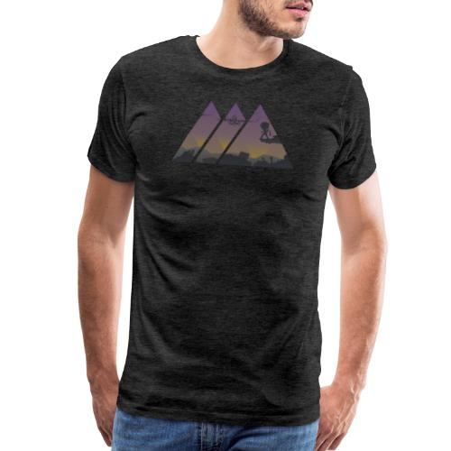Scrapyard Sunset - Men's Premium T-Shirt
