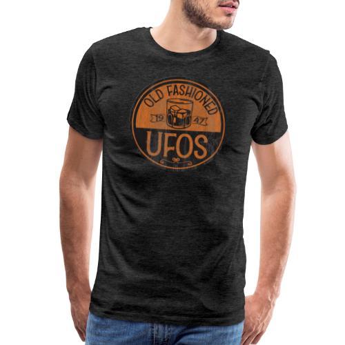 Old Fashioned UFOs logo - Men's Premium T-Shirt