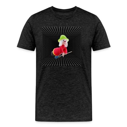3D witch - Men's Premium T-Shirt