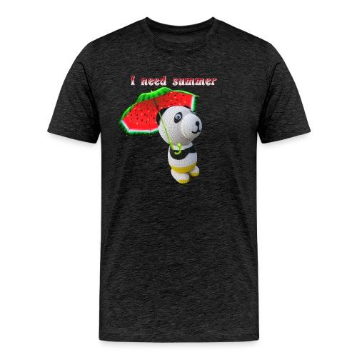 I need summer - Men's Premium T-Shirt
