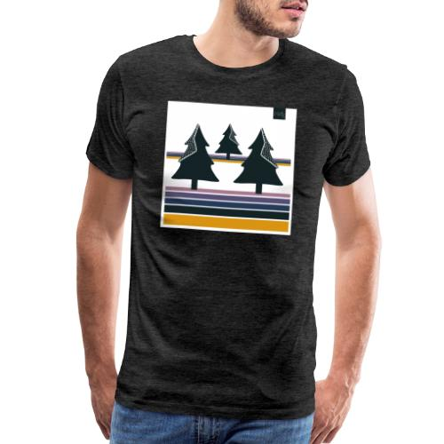 Trees on the Horizon - Men's Premium T-Shirt