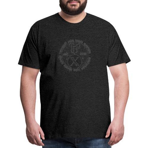 TCF 10th Anniversary (Grey) - Men's Premium T-Shirt
