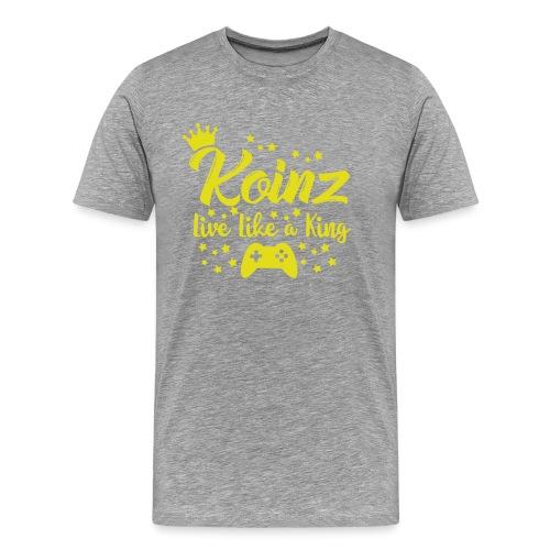 Live Like A King - Men's Premium T-Shirt