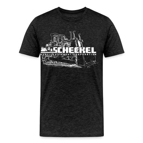 JJ Scheckel Dozer White - Men's Premium T-Shirt