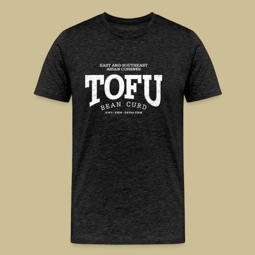 Tofu (white oldstyle) - Men's Premium T-Shirt