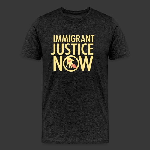 Immigrant Justice Now - Men's Premium T-Shirt