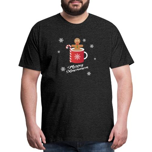 Merry Xmormon - Men's Premium T-Shirt