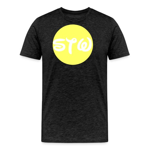 STW YELLOW LOGO - Men's Premium T-Shirt
