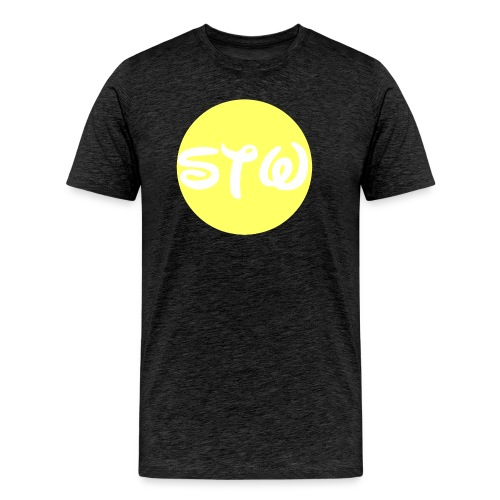 STW YELLOW LOGO - Men's Premium T-Shirt