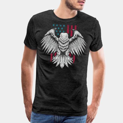 usa eagle american - Men's Premium T-Shirt