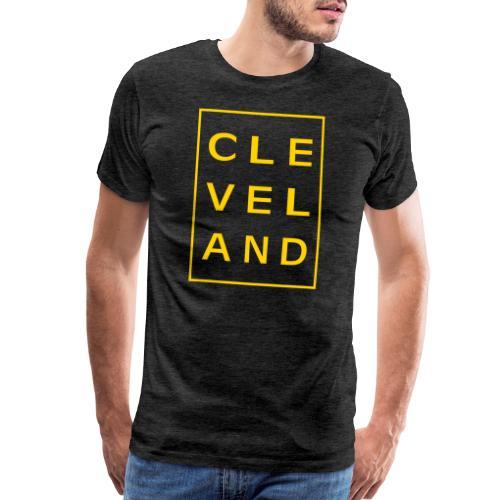 Cleveland Typography - Men's Premium T-Shirt