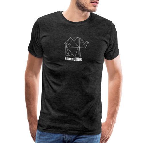 Anahnumus Logo - whitenobg - Men's Premium T-Shirt