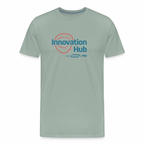Innovation Hub color logo - Men's Premium T-Shirt
