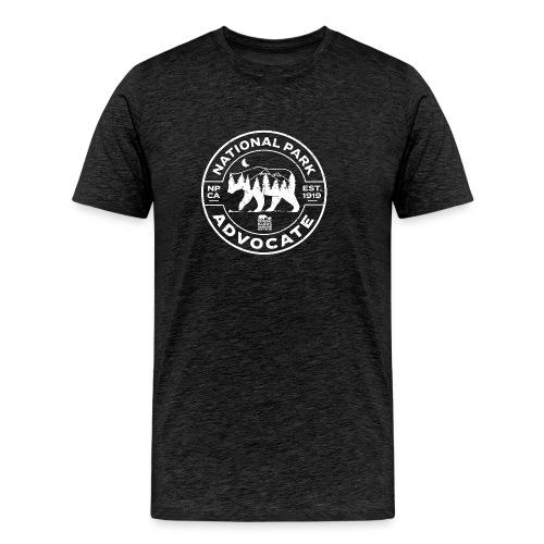 Distressed Park Advocate Badge - Men's Premium T-Shirt