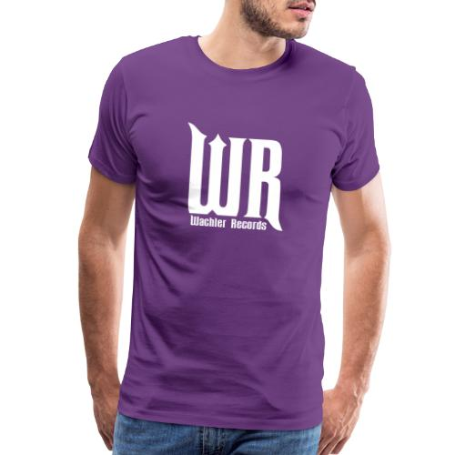 Wachler Records Light Logo - Men's Premium T-Shirt