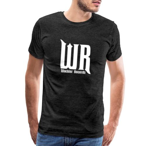 Wachler Records Light Logo - Men's Premium T-Shirt