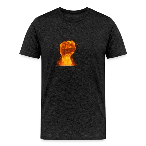 FIST OF FIRE - Men's Premium T-Shirt