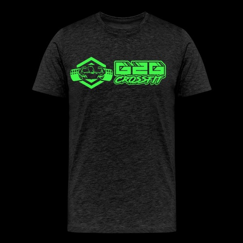 G2G Logo Side by Side Green - Men's Premium T-Shirt