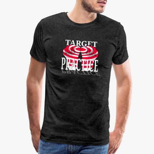 target practice white - Men's Premium T-Shirt