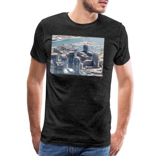 Toronto building by JRL - Men's Premium T-Shirt