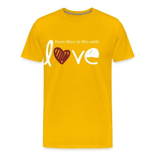 From Miss To Mrs - Men's Premium T-Shirt