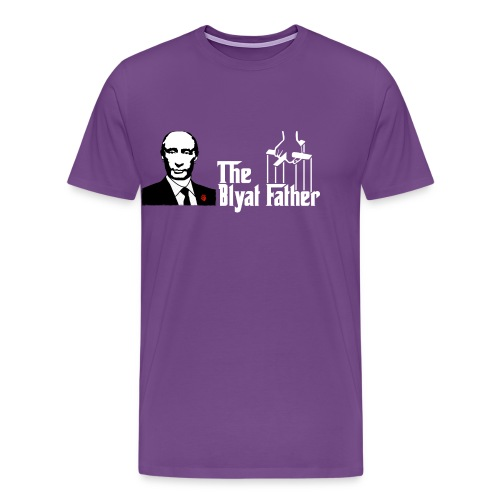 The Blyat Father - Men's Premium T-Shirt