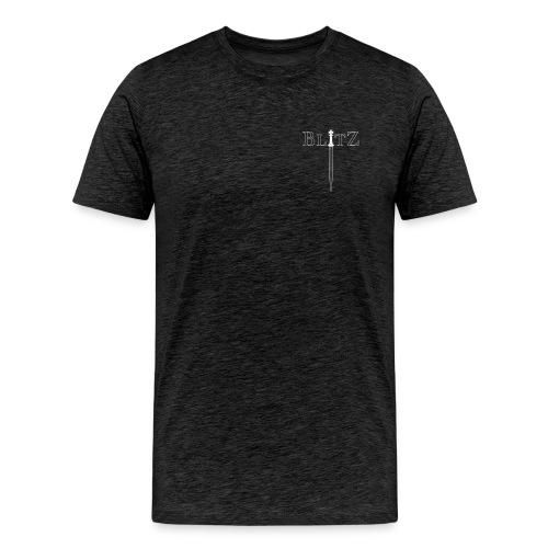 BLITZ CHESS - King - Men's Premium T-Shirt