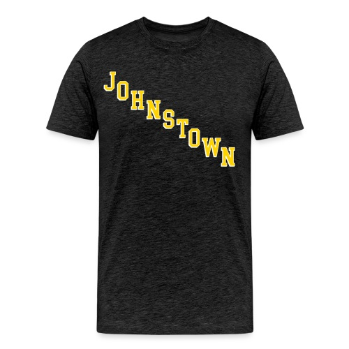 Johnstown Diagonal - Men's Premium T-Shirt
